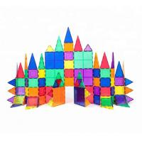 Buy cheap Magnet Building Tiles Clear Magnetic 3D Building Blocks Construction Toys from wholesalers