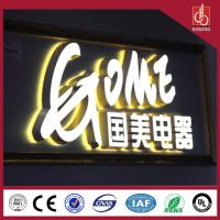 Buy cheap Vacuum light high quality custom strong acrylic alphabet letter signs product