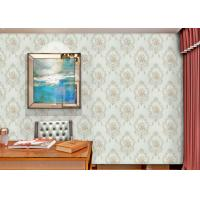 Buy cheap Damask Interiors Europe Wallpaper , Soundproof British Style Wallpaper with Embossed Surface product