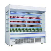 Buy cheap Supermarket Multideck Refrigerator Plug In System / Vegetable And Fruit Showcase from wholesalers