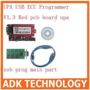 Buy cheap UPA USB ECU Programmer V1.3 Red pcb board upa usb prog main part product