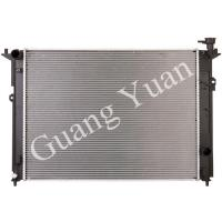 Buy cheap High Efficiency Aluminum Heat Exchanger Radiator , Hyundai Genesis Radiator DPI CU 13456 product