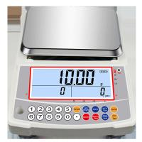 Buy cheap Industrial Digital Coin Counting Weighing Scale 1kg - 3kg Capacity With Large LCD Display product