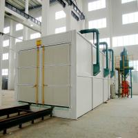 Buy cheap High Efficiency Shot Blasting Booth Painting Room Steel Plate / Sandwich Panels product