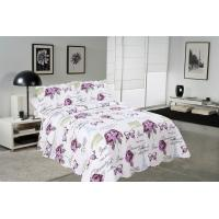 Buy cheap Rose / Butterfly Cotton House Quilt Covers With Colorful Printed Pattern Styles product