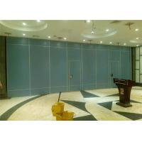 China Movable Sliding Interior Door Sound Proof Folding Wall In Commercial Offices on sale