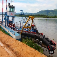 Buy cheap 450m3/H Underwater River Sand Cleaning Cutter Dredger product