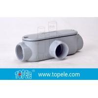 Buy cheap Indoor / Outdoor T Type 4 Inch Rigid Conduit Body Threaded Aluminum product