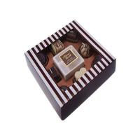 Quality luxury chocolate packaging gift box rigid lid and base dessert candy box for sale