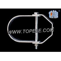 Galvanized Steel Pipe Clamp Clevis Hanger Heavy Duty With UL