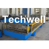 Buy cheap Custom Automatic Double Layer Sheet Roll Forming Machine With High Quality TW-DLM product