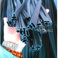 China flexible PVC extrusion seal with strong magnetic strips on sale