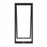 Buy cheap black Aluminum Top Hanging Swing Open Windows Good Air Tightness from wholesalers