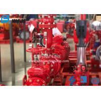 Buy cheap Residential / Industrial End Suction Fire Pump Single Impeller UL / FM Listed product