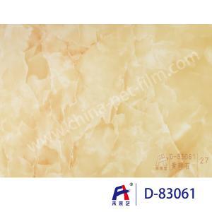 Buy cheap Blue Sky Wear Resistance PVC Decorative Film , Pvc Ceiling Film Simulation Of Marble product