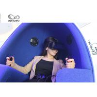 Buy cheap Funny Experience 9D VR Cinema / Electricity Platform 9D Motion Chair product