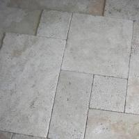 Buy cheap Travertine Tile, Different Designs are Available, Available in Light White product