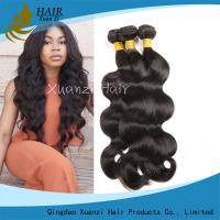 Smooth Real  Virgin Human Hair Extensions Body Wave Raw Unprocessed 100%