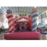 Buy cheap Kindergarten Baby Small Inflatable Bounce House , Inflatable Jumping Castle 3.5 X 4.5 X 4m product
