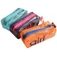 Buy cheap Orange / Green Household Storage Bags With Nylon Zipper For Gadget Accessories product