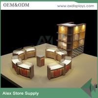 Buy cheap Luxury glass watch counter showcase watches vitrine jewelry display showcase display cabinet product