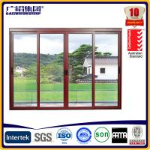 Buy cheap high quality Australia style aluminium wood sliding doors product