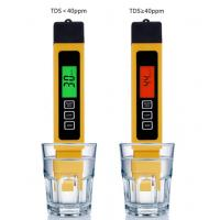 Buy cheap Filter Water Reverse Qsmosis Quality Purity 0-9990 ppm,3 in 1, LCD digital tds 3 from wholesalers