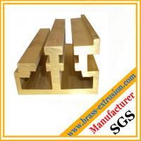 Buy cheap China manufacturer brass profiles for building material C38500 CuZn39Pb3  CuZn39Pb2 CW612N C37700 product
