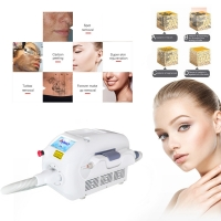 Buy cheap FDA 5NS Q Switched Nd Yag Laser Tattoo Removal product