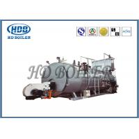 Buy cheap Automatic Steam Hot Water Boiler Fire Tube With Gas Fired / Oil Fired product