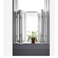 Buy cheap Removable 6063-T5 Aluminum Sun Shade Louvers , Interior Timber Louver Windows product