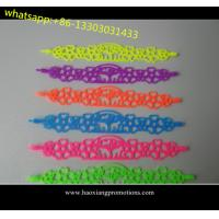 Buy cheap Tatto silicone bracelet wristband hollow siliocne band bracelet 2015 new fashion style product