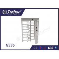 Buy cheap CE Approved Full Height Turnstile Revolving Door 30 Persons / Min Transit Speed product