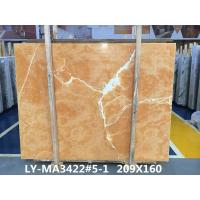 Buy cheap Orange Onyx Tile And Slab Marble Style Tiles For Luxury Building Interior Decoration product