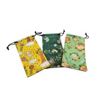 Buy cheap Natural Digital Pringting Glasses Pouch Case 100% Polyester Eco-friendly product