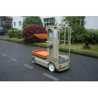Buy cheap Premium Quality Durable Vertical Mast Self Propelled Aerial Man Lift Electric Order Picker product