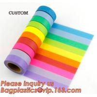 Buy cheap Most Popular Lovely Design Custom Printing Various Color Pineapple Assorted Pattern Waterproof Washi Tape For Kids Craft product