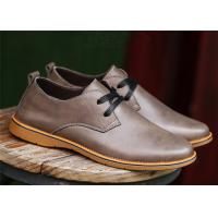 Buy cheap British Derby Style Comfortable Casual Shoes For Business Chromatic Out - Sole product