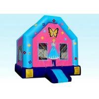 Buy cheap Jumper Backyard Inflatable Princess Doll House With Logo Customized product