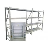 Buy cheap Adjustable Steel Freestanding Shelving Unit For Storage , Powder Coated Surface Treatment product
