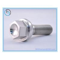 China Gr5 titanium racing lug bolt titanium wheel bolts on sale