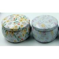 Buy cheap Vintage tin candle holder decorative candle holder with printing product
