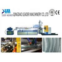 Buy cheap steel wire reinforced soft pvc spiral hose extrusion machine product
