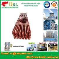Buy cheap Separately Fired 150M CFB Boiler Capacity Factor Superheater Tubes , Steam Super Heater product