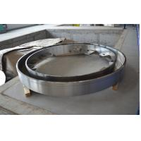Buy cheap Large Diameter Stainless Steel Machining Turning Machined Turned Drilling High Precision Gas Steam Turbine End Rings product