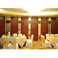 Buy cheap Conference Room Sound Proof Partitions Wall Paper Partition For Banquet Hall product
