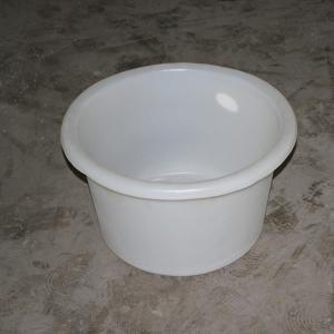 White Round basin -30L
