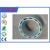 Buy cheap Mill Finish Round Hollow Aluminum Extrusion for Boats , 6061 / 6005 Aluminum Alloy product