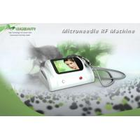 China 5MHZ Face Wrinkle Removal Machine , Radio Frequency Beauty Machine For Stretch Marks wholesale