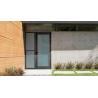 Buy cheap Patio Single Panel Aluminium Casement Hinged Glass Door Customized Profile Color from wholesalers